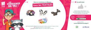 Recycler les textiles avec Le Relais