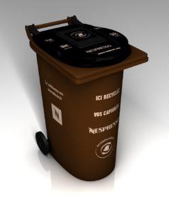 Bac de collecte capsules Nespresso
