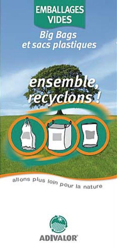 """Guide """"Big bags et sacs plastiques"""" - ADIVALOR"""