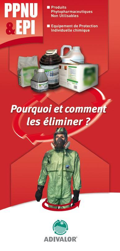 """Guide """"Produits phytopharmaceutiques et équipements de protection"""" - ADIVALOR"""