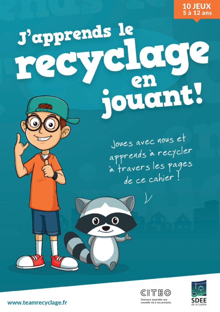Cahier d'activités recyclage 5-12 ans