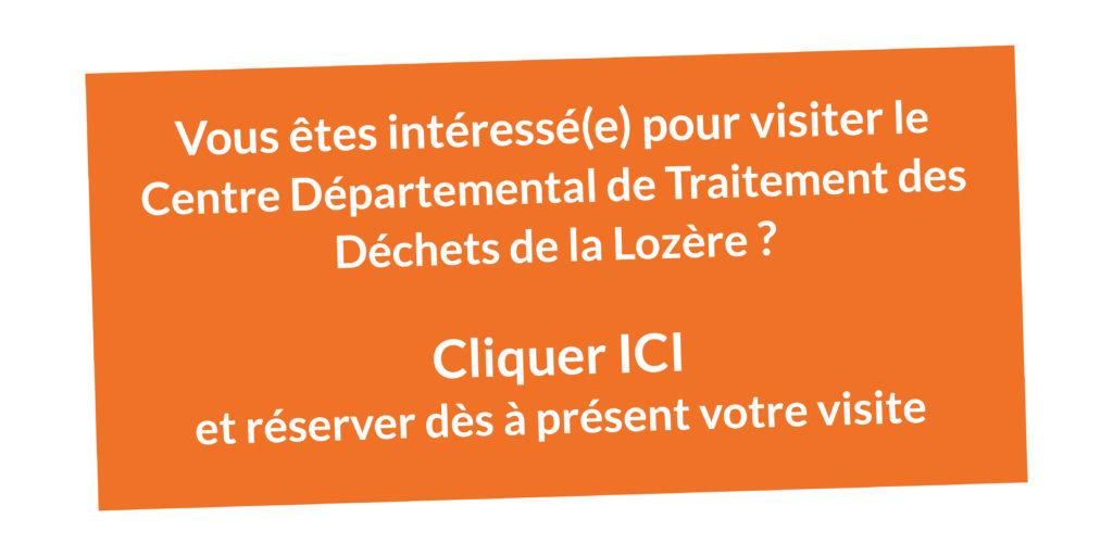 Réservation visite : Centre départemental de traitement des déchets