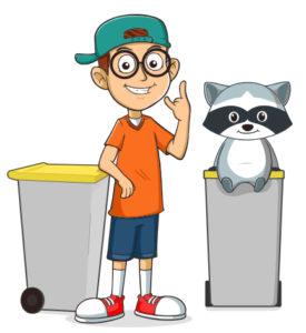 Team Recyclage : collecte sélective
